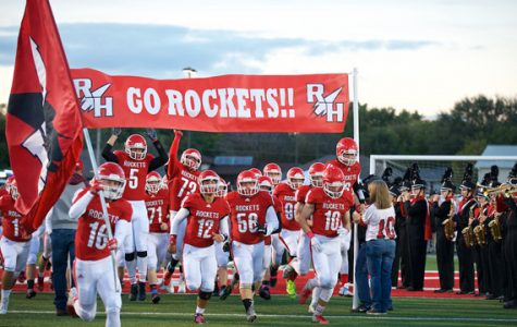 Rocket football optimistic for future despite results