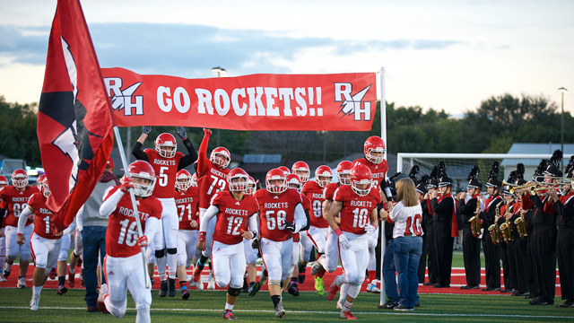 Rocket football optimistic for future despite results