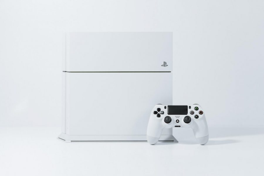 The+most+recent+console+released+by+Sony+was+the+PlayStation+4%2C+which+features+a+faster+processor+and+higher+resolution+graphics.+The+PlayStation+5+comes+out+Christmas+of+2020.
