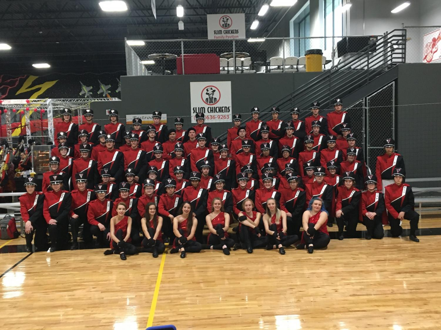 The Rose Hill High School Marching Band took second place at the 2019 Arkalalah Festival.