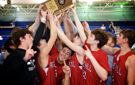 The Rockets qualified for their second state title in five seasons, after defeating Clearwater 52-49 in overtime.